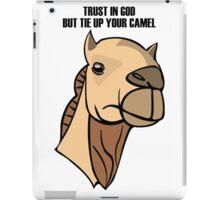 Camel Head iPad Case/Skin
