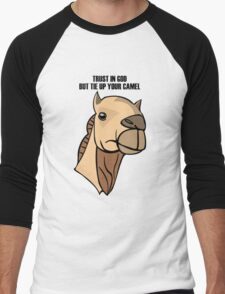 Camel Head Men's Baseball ¾ T-Shirt