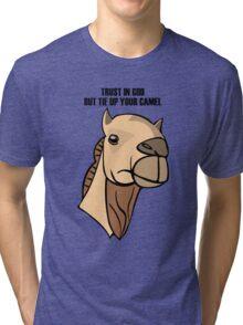 Camel Head Tri-blend T-Shirt
