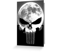 Punisher Moon Greeting Card