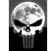 Punisher Moon Photographic Print