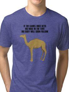 Camel Tri-blend T-Shirt
