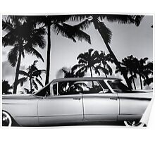 1960 Flat Top BW Poster