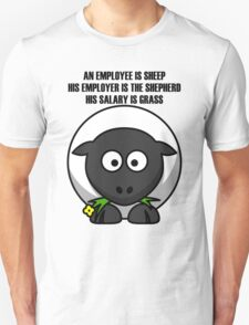 Cartoon Sheep Unisex T-Shirt