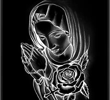 MOTHER MARY NEGATIVE by mark-chaney
