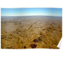 Outback Moonscape Poster