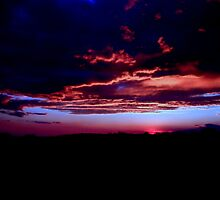 Stormy sunset by Tino161