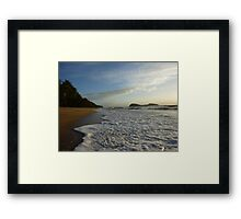 Palm Cove Beach Framed Print