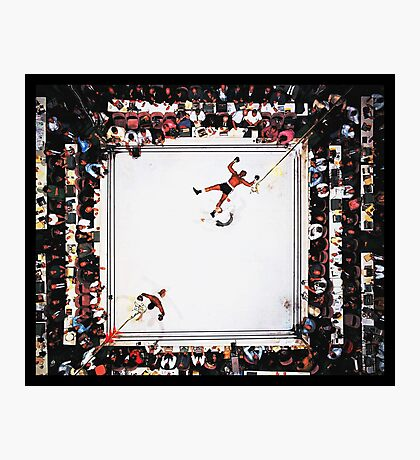 Muhammad Ali after knocking out Cleveland Williams Photographic Print