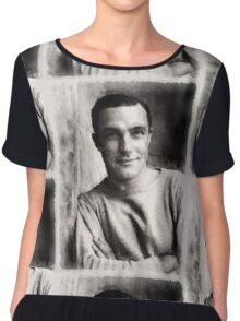 Gene Kelly, Actor and Dancer Chiffon Top