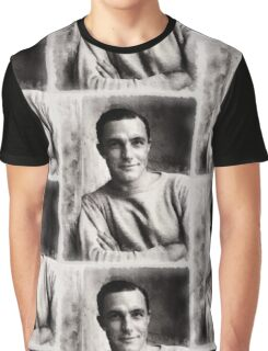 Gene Kelly, Actor and Dancer Graphic T-Shirt