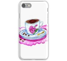 Cup of Coffee Art 2 iPhone Case/Skin