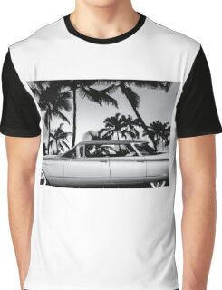 1960 Flat Top BW Graphic T-Shirt