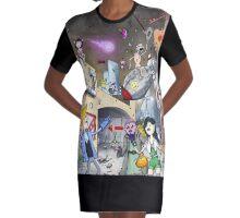 Bravest Warriors Official Fan Art Graphic T-Shirt Dress