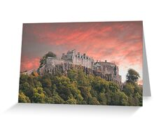 Stirling castle Greeting Card