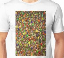 Colorful Insects, Beetles, and Bugs Unisex T-Shirt