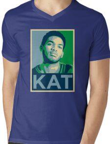 KAT - Karl-Anthony Towns Mens V-Neck T-Shirt