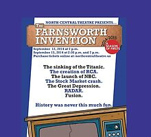NC Theatre presents THE FARNSWORTH INVENTION by Aaron Sorkin by nctheatre