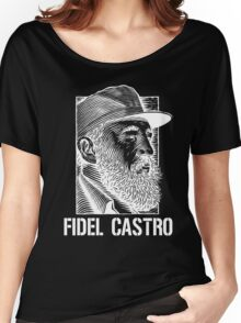 Fidel Castro -revoltion of che- Women's Relaxed Fit T-Shirt