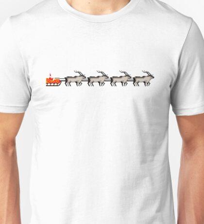Santa's sleigh Unisex T-Shirt