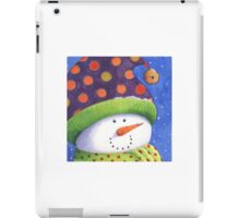Cute Christmas snowman  iPad Case/Skin