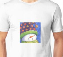 Cute Christmas snowman  Unisex T-Shirt