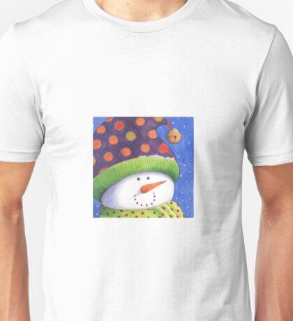 Cute Christmas snowman  Unisex T-Shirt