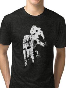 INK SILHOUETTE GIRL Tri-blend T-Shirt