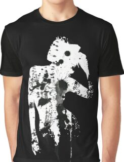 INK SILHOUETTE GIRL Graphic T-Shirt