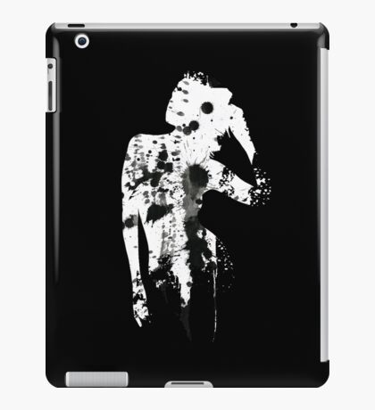 INK SILHOUETTE GIRL iPad Case/Skin