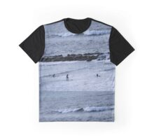 Surfboards & Waves Graphic T-Shirt