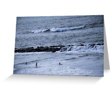 Surfboards & Waves Greeting Card