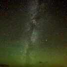 Northern Lights and Milky Way, Perthshire Scotland by Cliff Williams