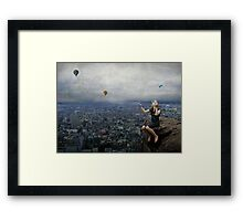 Climb to the top of the mountains........ Framed Print