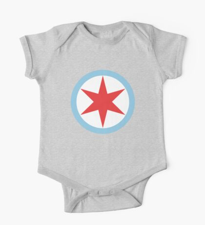 Captain Chicago One Piece - Short Sleeve