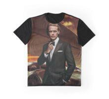 Heughan. Sam Heughan. Graphic T-Shirt