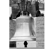 Memory Bell Tribute For 9/11 Victims Photographic Print