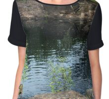 Ponds Of The Lord Chiffon Top