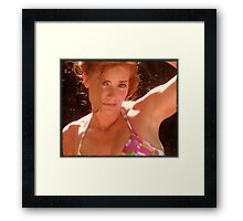 If you will look a little closer..... Framed Print