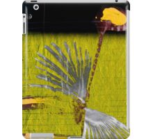 sunflower rising iPad Case/Skin