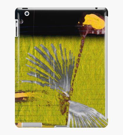sunflower rising iPad Case/Skin