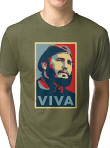 Fidel Castro Tri-blend T-Shirt