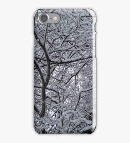 Snowy Branches in Wonderland iPhone Case/Skin