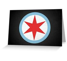 Captain Chicago (Dirty) Greeting Card
