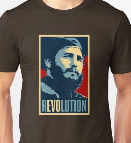 Fidel Castro Revolution Unisex T-Shirt