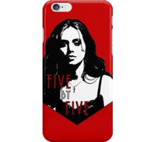 FAITH LEHANE: five by five iPhone Case/Skin