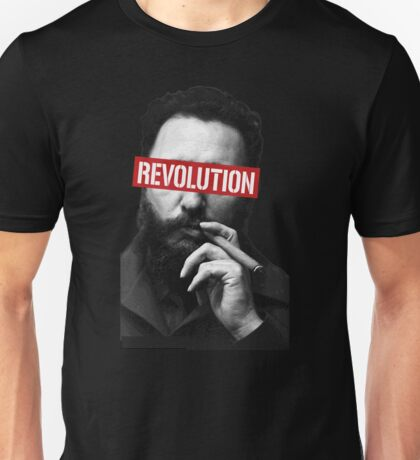 Fidel Castro Young Smoker and revolution Unisex T-Shirt