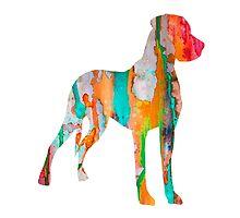 Great Dane by Watercolorsart