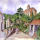 Port Meirion by Farida Greenfield