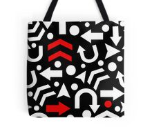 Right Direction - red Tote Bag